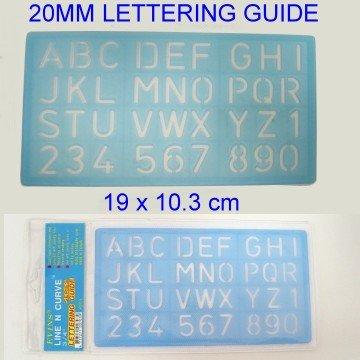 20mm Lettering Guide