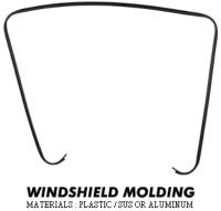 Windshield Molding