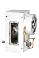 Vertically installed gear reducer