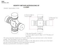 Inside Snap-ring Type