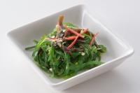 prepared shreded seaweed