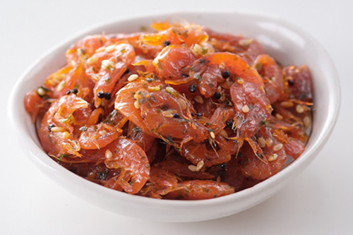 shiso sakura shrimp
