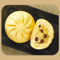 CHEESY RED BEAN BUN