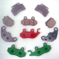 Motorcycle、ATV Disc Brake Pads(ORGANIC)