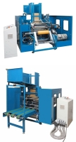 Cens.com Triple-Shaft Type Auto Stretch Film Rewinder TRU-BRITE MACHINERY CO., LTD.