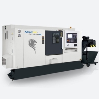 CNC Lathe with Linear Guide-way