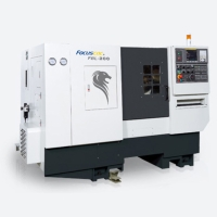 CNC Lathe with Box Guide-way