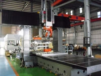 Fixed Double 5 Axis Columns Machining Center
