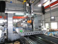 Fixed Double Columns Machining Center