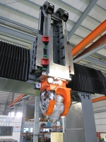 Sliding Double 5 Axis Columns Machining Center