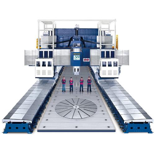 动柱动梁式龙门加工中心机