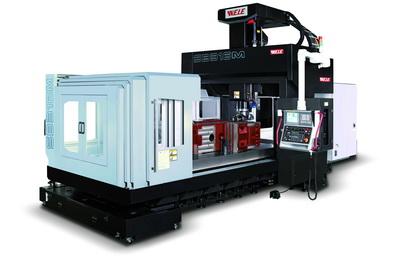 Bridge type machining center