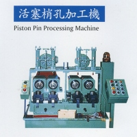 Piston-pin hole processing machine
