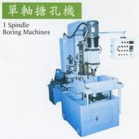 Single-spindle boring machine