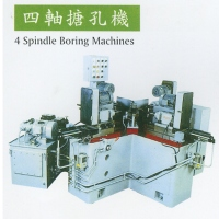 Four-spindle boring machine