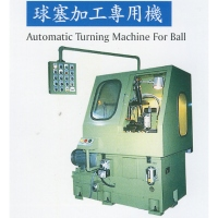 Ball valve processing machine