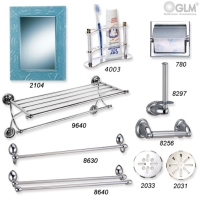 Cens.com Bathroom Accessories - Double Towel Shelf #9640 GLM CO., LTD.