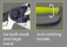 Auto-Rotating Anvil Pruner