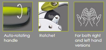 Super Auto-Rotating Ratchet Pruner
