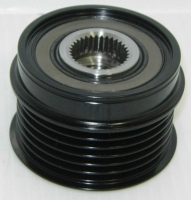 Overrunning Alternator Pulley