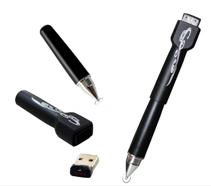 M001 (Universal stylus with 8G USB Memory stick)