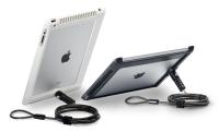 iPad Plastic Security Case + Lock for iPad2 & New iPad & iPad4