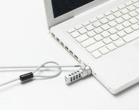 四码组合笔记型电脑锁