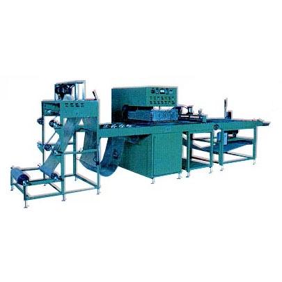 高週波自動拉料熔接及熱切片設備