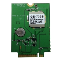 ublox 7 GNSS PCI Express M.2 Card  w/ I-PEX RF Connector