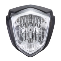 Motorcycle High/Low bean Headlamp with position lamp