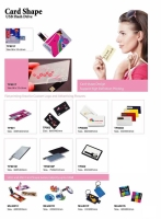 Card shape USB