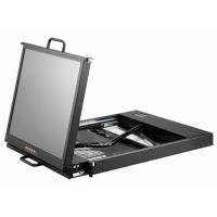 Dual rail LCD keyboard drawer