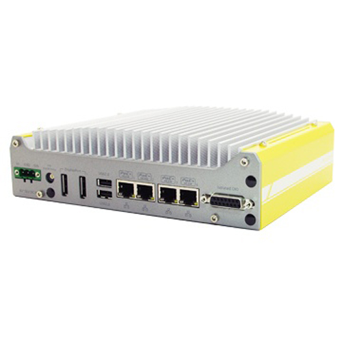Ultra-compact Atom™ Bay Trail-I Fanless Embedded Controller with PoE and USB 3.0