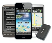 Smartphone Remote Control & GPS Tracker - GPS/GSM tracking system with RS232 dataport