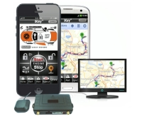 Concealed antenna touch-scr