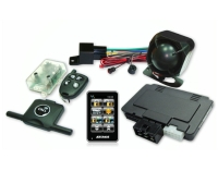 Cens.com Color Touch-Screen Display 2-Way Alarm & Starter with GSM/CANbus Data Port TESOR PLUS CORP.