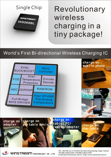 Bi-directional Wireless IC Charger