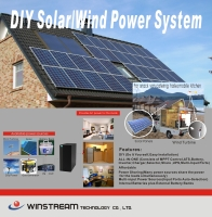 Cens.com DIY Solar/Wind Power System WINSTREAM TECHNOLOGY CO., LTD.