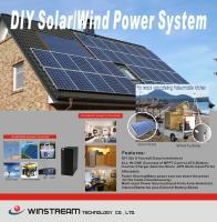 DIY多功能太陽能電力系統