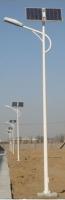 40W Solar Street Light , Height: 7M