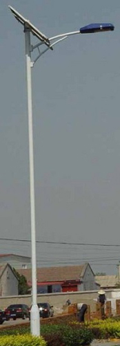 50W Solar Street Light , Height: 8M