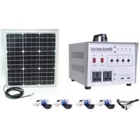 太陽能發電機, 太陽能發電系統