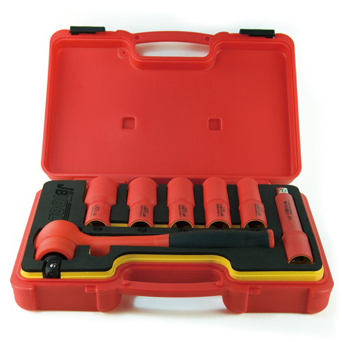 """8pc ½""""Dr. Insulated Socket Set"""
