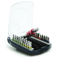 22pc Quick Release Bit Set W/Belt Clip