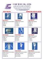 TRUCK POWER WINDOW REGULATOR/MANUAL WINDOWREULATOR