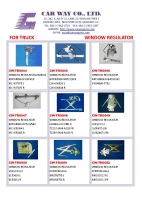 Cens.com TRUCK POWER WINDOW REGULATOR/MANUAL WINDOWREULATOR CAR WAY CO., LTD.
