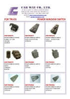 TRUCK POWER WINDOW SWITCH