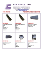 TRUCK POWER WINDOW SWITCH