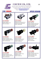NISSAN SPEED SENSORS