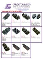 DAIHATSU/FIAT/HONDA/ISUZU AUTO SWITCH/POWER WINDOW SWITCH